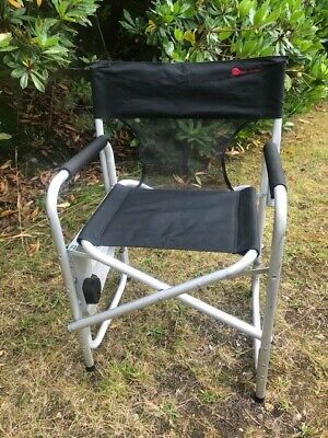 £18.50 • Buy Directors Chair With Side Table / Camping Chair Folding