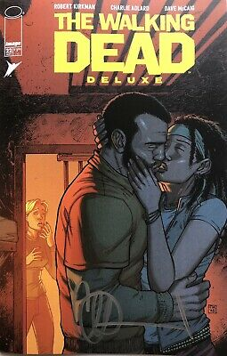 £6.95 • Buy Image Comics Walking Dead Deluxe #22 Moore Cover Signed By Charlie Adlard