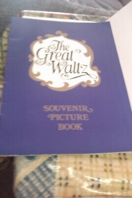 £2.99 • Buy Vintage The Great Waltz Souvenir  Picture Book, Very Good Condition
