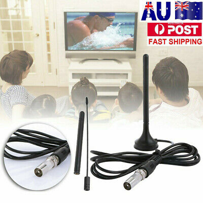 AU10.49 • Buy Portable Digital HD TV Antenna Indoor Outdoor Freeview Aerial Ariel House 50Mile