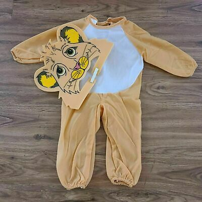 £7.97 • Buy New Soft N Cuddly Child Infant Lion Halloween Costume Size 1-2 Years By Rubies