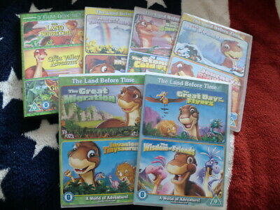 £1.04 • Buy THE LAND BEFORE TIME (13 FILM DVD COLLECTION) CLASSIC FAMILY ANIMATION 99p
