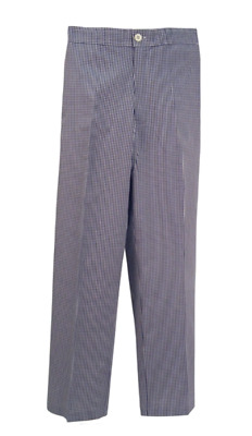 £7.99 • Buy NEW Bargain Chef Trousers Chefs Whites Gingham Blue & White Check Pants B2/CT02