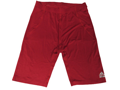 £12.34 • Buy New Adidas Mens Size 4XL 4XLarge Red Compression Techfit Under Shorts