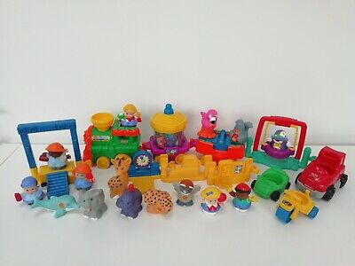 £20 • Buy Fisher Price Little People ABC Zoo Train, + Animals, People, Accessories