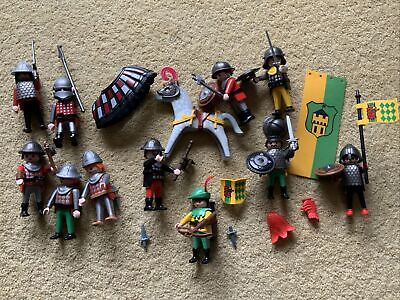 £16 • Buy Playmobil Knights And Horse Mixed Figures