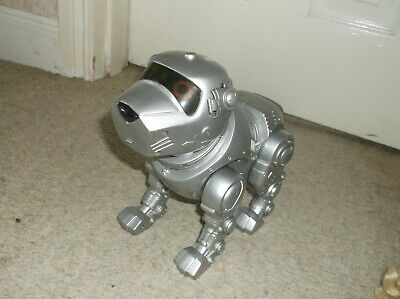 £7.49 • Buy Tekno Large Electronic Pet Puppy Dog In Silver By Manley Quest Fully Working