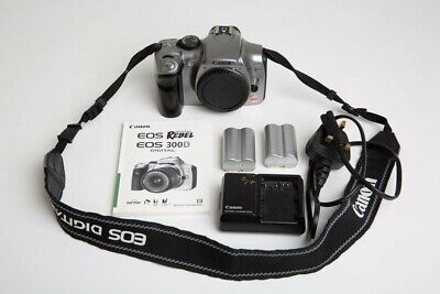 £15 • Buy Canon EOS Digital Rebel / 300D DSLR Camera Body Only + Canon Charger