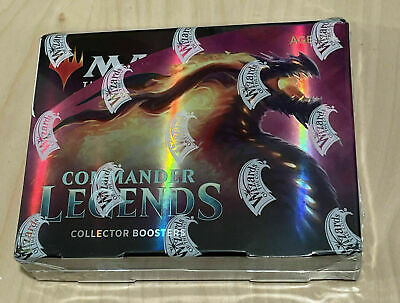 £259.99 • Buy MTG - Commander Legends Collector Booster Box Sealed MAGIC NEW