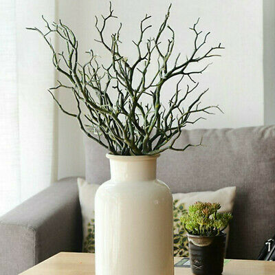 £4.49 • Buy Artificial Dried Tree Branch Twigs Plant Craft Wedding Party Home Decor L 35CM