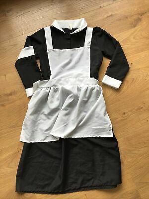 £2.99 • Buy Childrens Maid Dressing Up Outfit Age 5-7 Years Servant Outfit