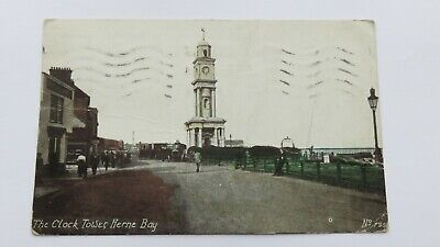 £3.99 • Buy Postcard Herne Bay, The Clock Tower & Charabanc, Kent. Posted 1929.