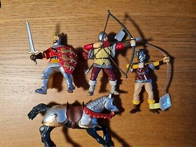£5.99 • Buy 2 Papo Knights And A Plastoy Archer