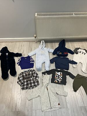 £6.50 • Buy Bundle Of Baby Boys Clothes 3-6 Months, Mothercare. Gap, H&M, F&F