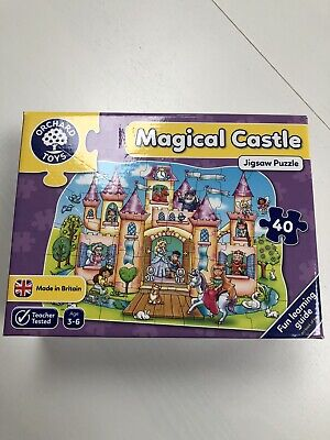 £3 • Buy Orchard Toys Magical Castle Jigsaw 40 Pieces
