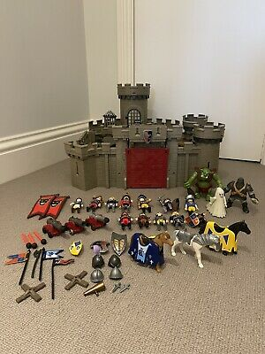 £16 • Buy Incomplete Playmobil Castle With Figures And Accessores