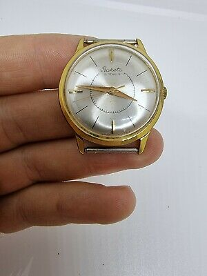 £25.31 • Buy Gold Plated Vintage RAKETA  Watch Made In USSR From 1960s