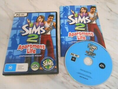 £12.95 • Buy The Sims 2 Apartment Life Expansion Pack - Pc Game Add-on - Original & Complete