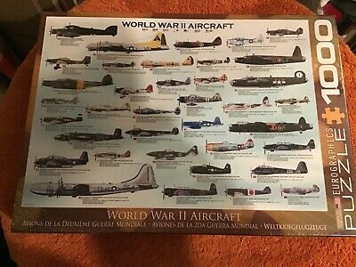 £6.99 • Buy 1000 Piece World War Two Aircraft Jigsaw Puzzle