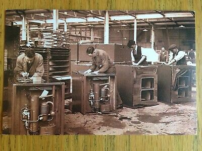 £0.99 • Buy Factory Workers July 1932 Nostalgia Postcard
