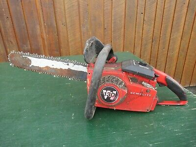 £72.74 • Buy Vintage HOMELITE VI 130  Chainsaw Chain Saw With 16  Bar