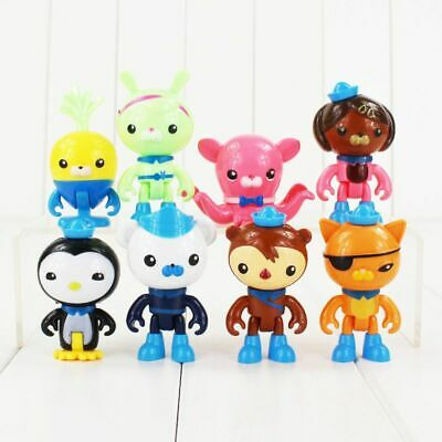 £3.82 • Buy 8 Pcs Set The Octonauts Figures Octo Crew Pack Playset Action Figure Doll Toy UK
