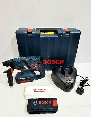 £149.99 • Buy Bosch Gbh 36v - Ec Compact Professional Hammer Drill With Case Charger & Battery