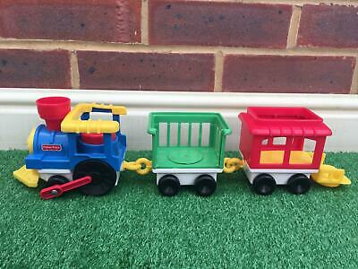 £3.99 • Buy Vintage Fisher Price Train Circus Zoo And Carriages Set 2372