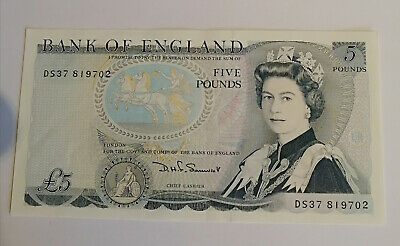 £7.16 • Buy Duke Of Wellington Old Blue £5 Note Issued 1971 In Mint Condition SOMERSET DS37