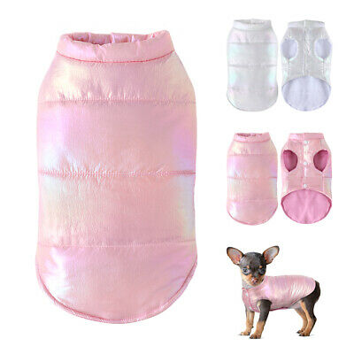 £7.96 • Buy Puppy Coats For Small Dogs Boy & Girl Waterproof Winter Pet Jacket Clothes Vest