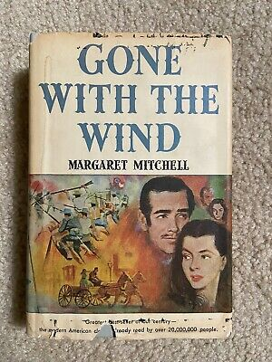 £13.13 • Buy 1936 - Gone With The Wind, 1st Book Club Edition HC/DJ HARDCOVER