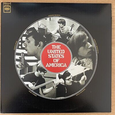 £23.80 • Buy THE UNITED STATES OF AMERICA - Self Titled S/T VINYL LP 2017 Sundazed Exc Cond!