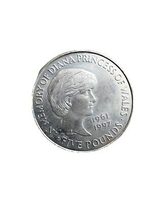 £5 • Buy 1999   In Memory Of Diana Princess Of Wales 1961-1997   £5 Five Pound Coin
