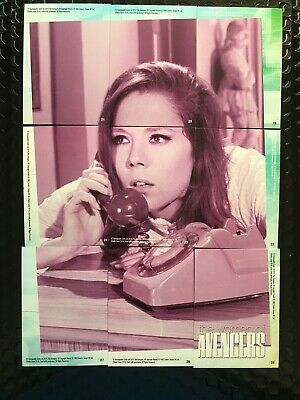 £3 • Buy The Avengers Emma Peel/Diana Rigg - Puzzle Made Up Of 9 Trading Cards