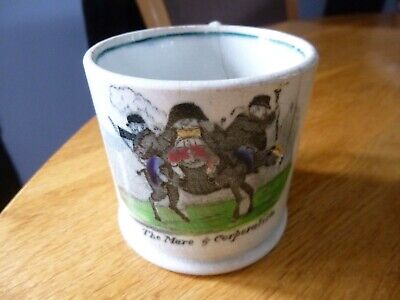 £19.99 • Buy C1840-1850 Victorian Pearlware Childrens Childs Mug  The Mare & Corporation