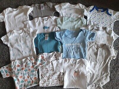 £0.99 • Buy Baby Boys 14 Vests 3-6 Months Excellent Condition