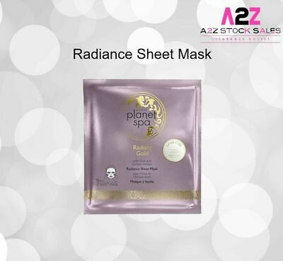 £3 • Buy Avon Planet Spa Radiant Gold Radiance Sheet Mask Infused With Oud & Golden Amber