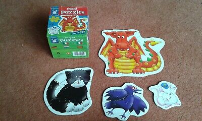 £2.99 • Buy Orchard Toys TIBERIUS MOUSE 4 Shaped Graded Jigsaw Puzzles, 2-8 Pieces, Age 3+