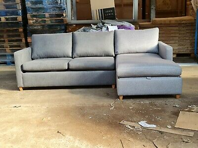 £695 • Buy John Lewis Bailey RHF Chaise Sofa Bed - £2299 In Store - Brand New - But .......