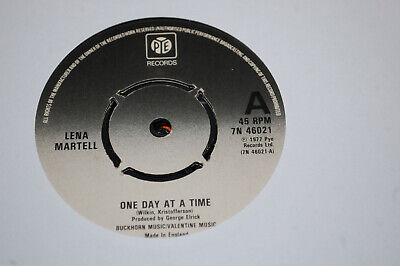 £0.99 • Buy LENA MARTELL - ONE DAY AT A TIME - 7  Single 1977
