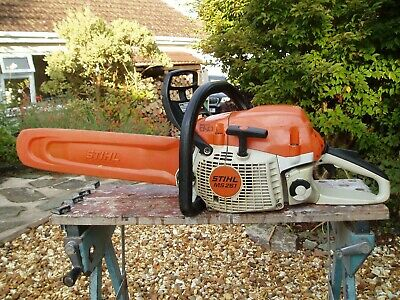 View Details Stihl MS261 Professional Petrol Chainsaw With 16 Inch Guide Bar And Chain • 370£