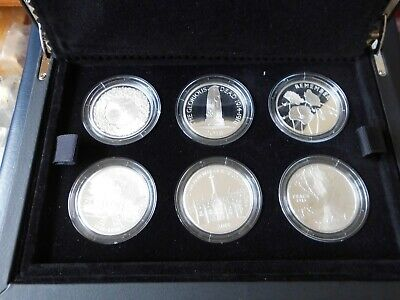 £195 • Buy ROYAL MINT 2018 UK £5 SILVER PROOF 6 COIN SET THE 100th ANNIVERSARY OF WW1