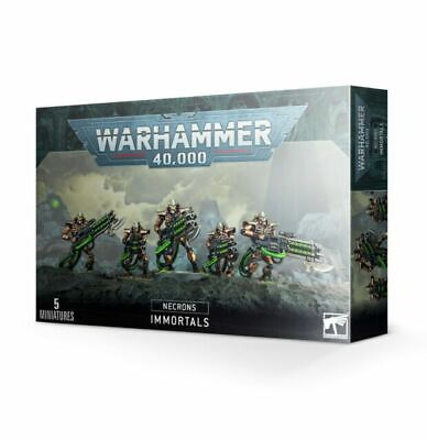 £19.79 • Buy Warhammer 40k Necron Immortals / Deathmarks - New And Sealed