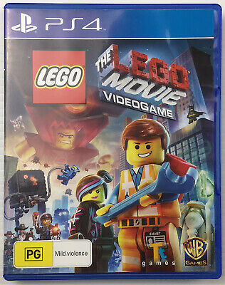 AU26.95 • Buy The Lego Movie Video Game PS4 PlayStation Sony Complete Includes Manual VGC