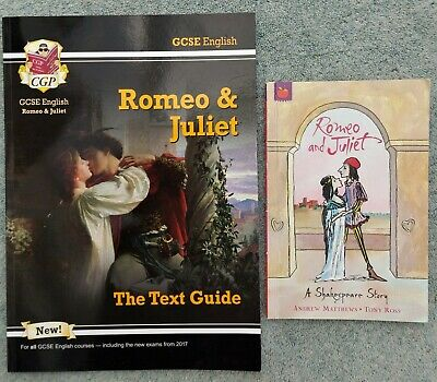 £3.99 • Buy GCSE English - The Text Guide Romeo & Juliet CGP / Romeo & Juliet Orchard Books