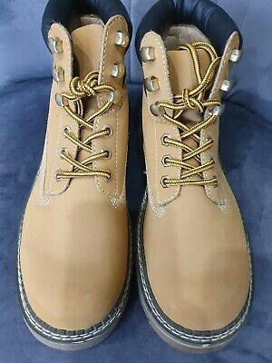 £12.90 • Buy Century Brand Mens Tan Boots Size 7/7.5