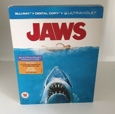 £4.50 • Buy Jaws (1975) Blu Ray With Slipcover (VGC)