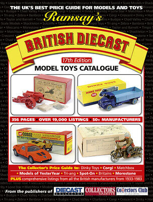 £22.79 • Buy Latest 17th RAMSAYS Diecast TOYS Price GUIDE CORGI DINKY Britains Matchbox +more