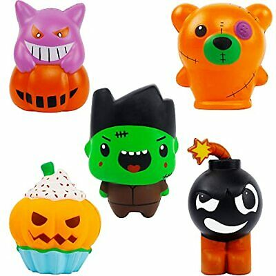 AU27.09 • Buy  Halloween Party Favors, 5 Pack Jumbo Squishy Slow Rising Toys Set, Halloween
