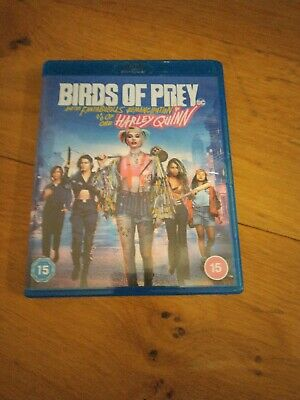 £3.20 • Buy Birds Of Prey And The Fantabulous Emancipation Of One Harley Quinn On Blu-ray